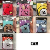 BTS BT21 Official Authentic Goods Passport Case COOKY TATA CHIMY KOYA Etc
