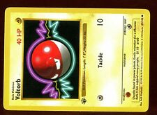 "POKEMON BASE English SHADOWLESS CARD 1ed N°  67/102 VOLTORB ERROR ""Monster Ball"""