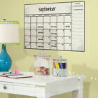 New Giant DRY ERASE BOARD CALENDAR WALL DECALS Peel & Stick Stickers Kids Decor