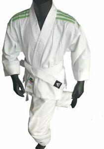 adidas Karateanzug ohne Gürtel / without belt K200 Kinder Weiß/Grün