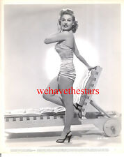 Vintage Gale Robbins SEXY SWIMSUIT PINUP 40s WB Publicity Portrait