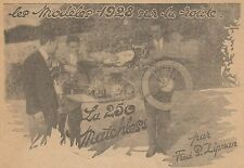 Y9942 Moto MATCHLESS 250 cmc. - Pubblicità d'epoca - 1928 Old advertising