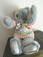 """THE VERMONT TEDDY BEAR CO BASE BALL FRIEND OUTFIT13"""" PLUSH- W THE ORIGINAL TAG"""