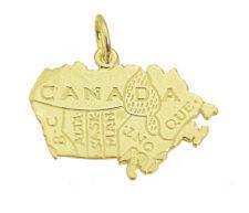 Canada and it's Provinces Gold Pltd Charm Canadian British Columbia Saskatchewan