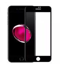 iPhone 8 Plus Panzerglas Folie Apple Screen Protector Black 3D Harte Kante