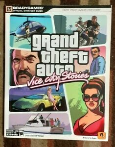 Grand Theft Auto Vice City Stories Bradygames Official Strategy Guide