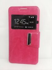 Funda Carcasa Libro Iman con Soporte HTC DESIRE 510 COLOR ROSA CON PROTECTOR