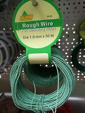30 m ROUGH WIRE FOR CLIMBING PLANT, SUPPORT WIRE tomato grape cucumber flower