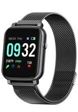 Smart Watch with Heart Rate Monitor BP Fitness Tracker IP68 Waterproof