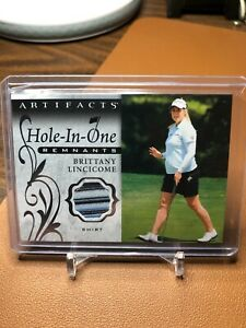 BRITTANY LINCICOME 2021 ARTIFACTS GOLF #OR-BL HOLE-IN-ONE SHIRT CARD
