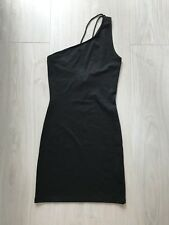 One Shoulder Kleid Schwarz Gr. 38 Neu mit Etikett