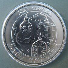 RCM - 2012 - 25-cent - Christmas Holiday - BU - Original Sealed - One Coin