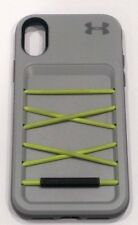 Under Armour Arsenal Series Wallet/Storage Case for iPhone X (10) - Gray/Green