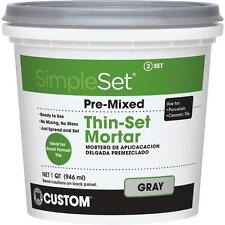 simpleset Qt Gry Pm Thinset Mortar