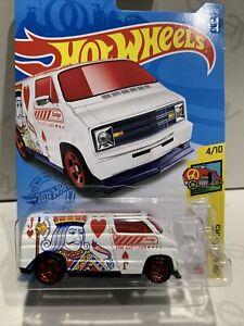 2021 Hot Wheels #65 - Custom '77 Dodge Van (Case C Treasure Hunt) New & Unopened