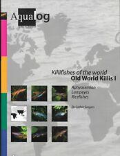 Aqualog Old World Killifish 1 - Aphysemion Lampeyes Ricefish