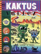 Kaktus 1 Fantagraphics Books Comic Desert Valley C. Comix Magazine 1st Print NM