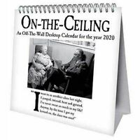 On the Ceiling Desk Easel 2020 Calendar Page-a-Month Tent