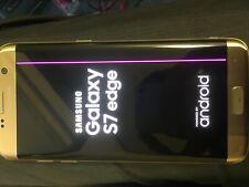 Samsung Galaxy S7 edge SM-G935F - 32GB - Gold Platinum (Unlocked) Smartphone -
