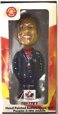 Hand Painted Wayne Gretzky Bobble Head Doll Team Canada NIB Merchandise (2002)