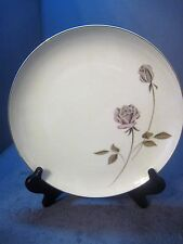 SOLAR QUEEN CHINA DELUXE DINNER PLATE STEM ROSE PATTERN