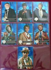Dr Who Series 3 Trading Cards by Cornerstone (1995) Foil Doctors Puzzle Set of 7