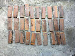 Edwardian reclaimed Hearth Tiles - Amber - Collection Only Se13
