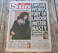 Freddie Mercury : The Sun UK Newspaper 28th November 1991 (Queen)