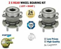 FOR SUBARU XV GP 1.6 i AWD GP3 G33GP 2012-> 2x Rear WHEEL BEARINGS