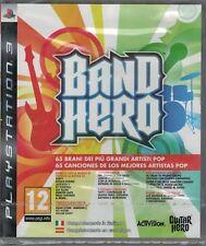 BAND HERO GUITAR - SONY PS3 - A ESTRENAR -(Sólo Envíos a Península)