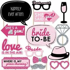 Happium - Bride To Be Party Foto Booth Requisiten Kit 20stk.