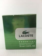 LACOSTE ESSENTIAL For MEN COLOGNE 2.5 OZ EDT Spray NEW IN SEALED BOX AS SHOWN