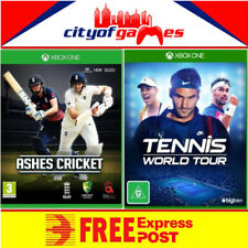 Tennis World Tour & Ashes Cricket Xbox One Bundle New Free Priority Post