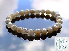 Labradorite Natural Gemstone Bracelet 7-8'' Elasticated Healing Stone Chakra