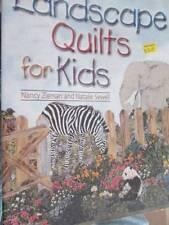 Landscape Quilts For Kids Sewing Book-Animals/Children- Nancy Zieman & Natalie S
