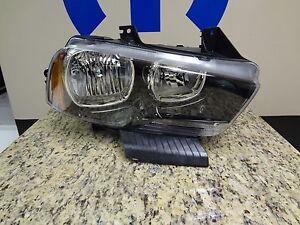 11-14 Dodge Charger New Headlamp Assembly Right Side Halogen Mopar Factory Oem