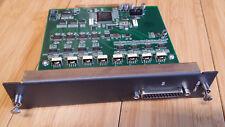 mackie digital x bus-THE AES/EBU CARD-one DB25 for eight channels digital audio