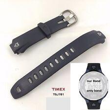 Timex Pulsera reemplazo para t5j781 Ironman 30 LAP FLIX t5j781-PU Band Azul