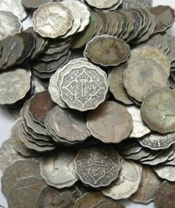 BRITISH INDIA - GEORGE V - 1 ANNA - ONE ANNA - 1920 TO 1936 - 10 COINS