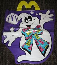 1990 McDonalds Halloween Vinyl Trick or Treat Bag - Ghost