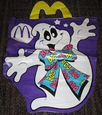 1990 McDonalds Halloween Vinyl Trick or Treat Bag - Ghost