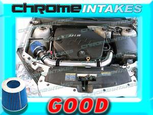 BLACK BLUE 07 08 09 / 2007 2008 2009 SATURN AURA 3.6 3.6L V6 FULL AIR INTAKE KIT