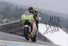 MotoGP HECTOR BARBERA Signed PRAMAC DUCATI Colour 12x8 Photo