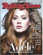 ADELE Kiki Kannibal FLEET FOXES Bonnie McKee LEX LUGER 2011 magazine
