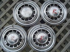 1963 1964 1965 65 RAMBLER NASH HUBCAPS WHEEL COVERS CENTER CAPS  VINTAGE CLASSIC