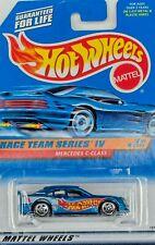HOT WHEELS  RACE TEAM SERIES IV MERCEDES C-CLASS  #2/4 car series #726 5 spoke