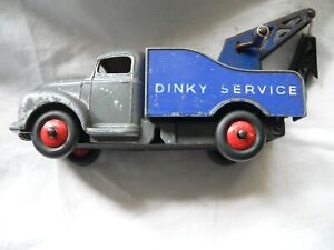 VINTAGE DINKY TOYS No.25x 430 COMMER BREAKDOWN TRUCK MECCANO GREY BLUE 1956