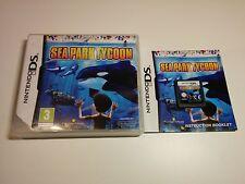 Sea park tycoon-Nintendo DS-gratuit, rapide p&p!