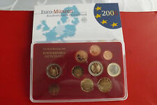 "* Germania Euro KMS PP 2006 ""D"" in blister con 2 € moneta commemorativa"