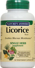 Licorice Root, Nature's Answer, 90 capsules